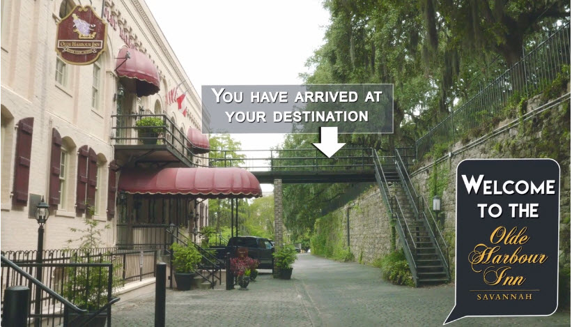 Directions to Olde Harbour Inn - You have arrived at your destination