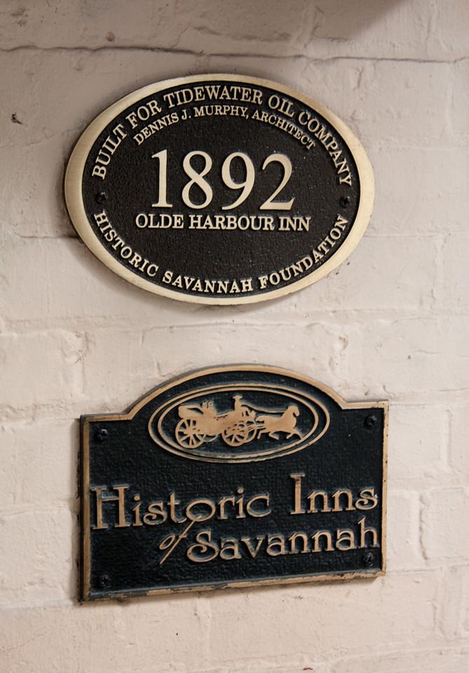 Olde Harbour Inn Historic Savannah Foundation