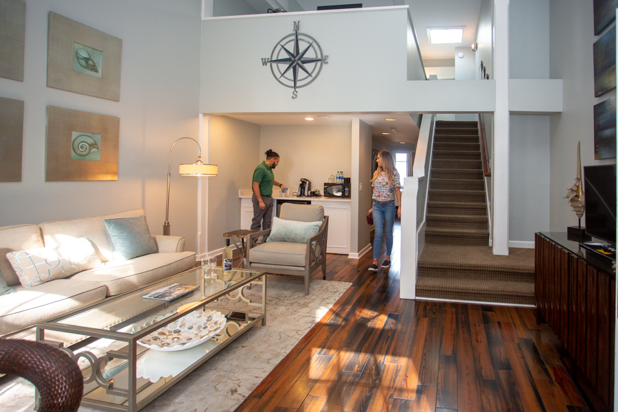 Premiere 2-Bed Suite, River View at Olde Harbour Inn