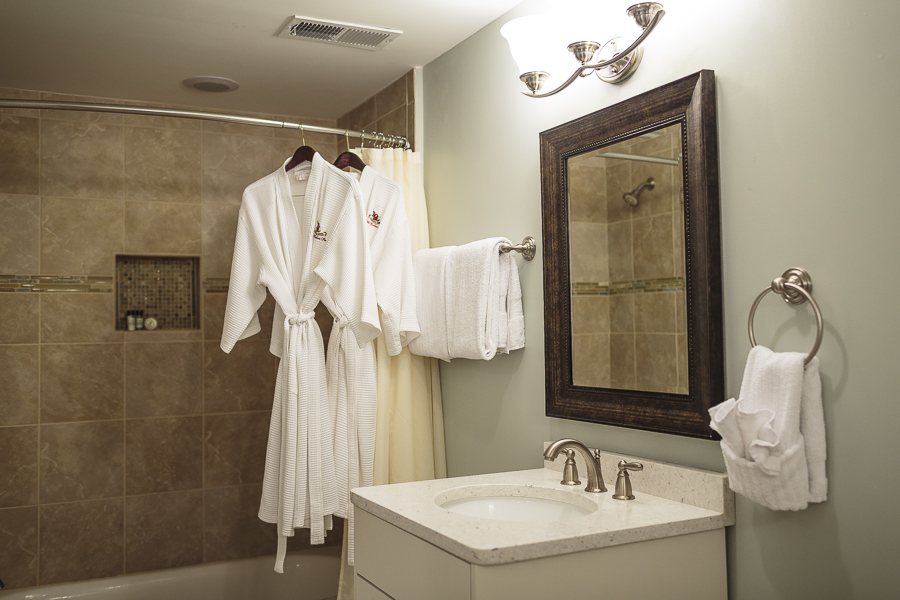 Two robes for your use in the room
